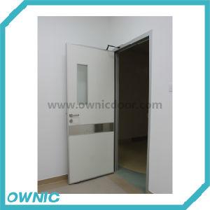 Cheap Manual Swing Door with Door Closer pictures & photos