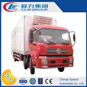 Dongfeng 3 Axles 13tons Refrigerator Truck Freezer Truck for Sale pictures & photos