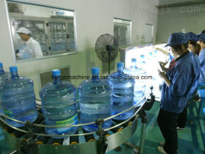 900bph Automatic 5 Gallon Jar Barrel Bucket Washing Filling Capping 3in1 Unit Machine pictures & photos