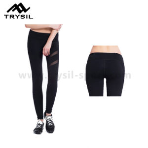 Women Sexy Sport Leggings Fashion Yoga Long Pants Fitness Wear for Lady pictures & photos