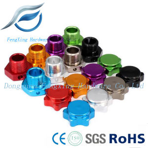 Hex Hubs Adapter Nut with Anti-Dust Cover for RC Car Wheel pictures & photos