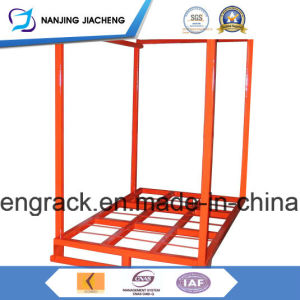Powder Coated Foldable Stacking Rack for Tires pictures & photos