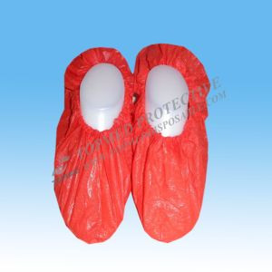 Disposable Surgical Hygienic Waterproof CPE PE Plastic Shoe Cover Overshoes pictures & photos