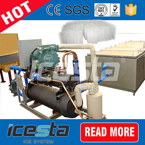 2t Direct Cooling Aluminium Plate Ice Block Maker Machine pictures & photos