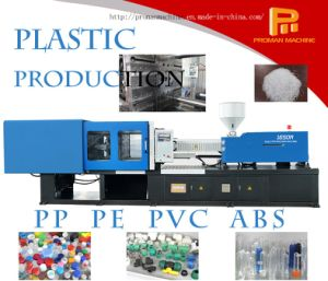 PP PE Plastic Bottle Caps Injection Molding Machine with High Quality and Speed pictures & photos