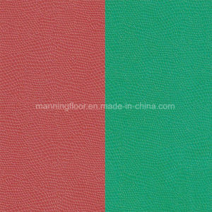 PVC Sports Flooring for Badminton Table Tennis Snake Pattern-4.5mm Thick Hj28931 pictures & photos