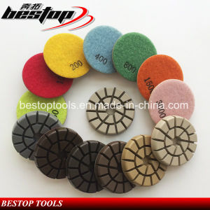 Resin Diamond Floor Polishing Pad for Granite Marble pictures & photos