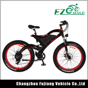 Full Suspension Electric Mountain Bike Tde18 pictures & photos