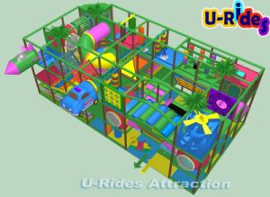 Hottest Indoor Playground Children Happly Castle Play Party Center Equipment Play pictures & photos