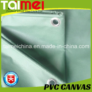 650GSM PVC Truck Cover Beige/Gray/Black UV Treated pictures & photos