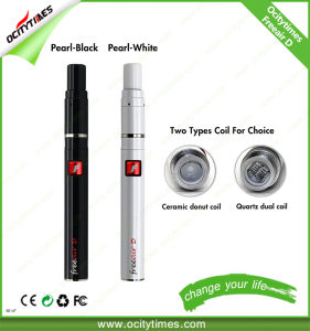 Most Popular Ceramic Donut Coil/Quartz Dual Coil Wax Vaporizer Pen pictures & photos