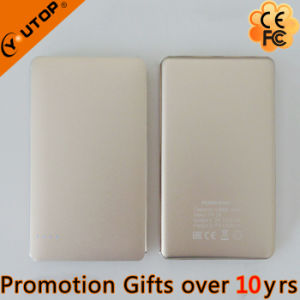 Custom Logo 10000mAh Golden Power Bank Cooperate Promotion Gift (YT-PB37) pictures & photos