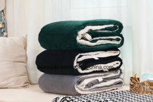 Sherpa Custom Blanket / Baby Product Fleece Blanket -Green pictures & photos