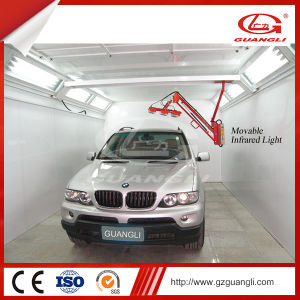 China Guangli Brand Economic Car Spray Painting Room with Infrared Light Heating pictures & photos