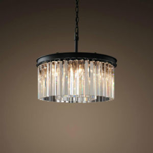 Drum Chandelier Crystal Post Modern 3 Lights, Modern Home Crystal Lighting Fixture, Pendant Light Chandeliers Lighting for Dining Room, Foyer pictures & photos