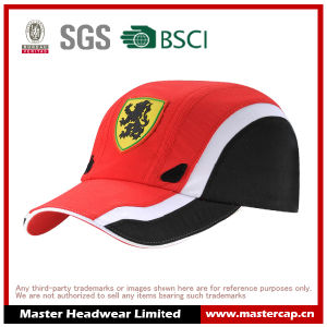 Applique Embroidery Sports Cap in Microfiber pictures & photos