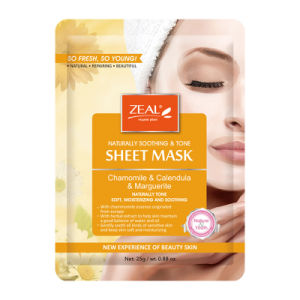 Zeal Soothing &  Tone Sheet Mask 25ml pictures & photos
