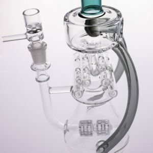 Glass Hookah Borosilicate Tobacco Smoking Pipe Concentrate Oil Rigs pictures & photos