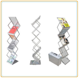 Strong and Stable Acrylic Display Rack with Aluminum Case (E07B4) pictures & photos