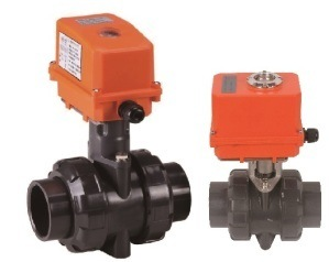 PVC Valve Elctric True Union Valve pictures & photos