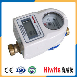 Hiwits Domestic IC Card Prepaid Drinkable Purified Residential Water Meter pictures & photos