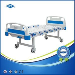 Three Function Manual Hospital Bed Table with Drawer (BS-838A) pictures & photos