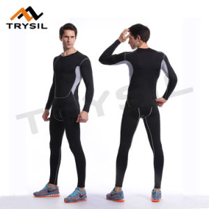 Men Sports Compression Wear Fitness training Clothes Athletic Garments pictures & photos