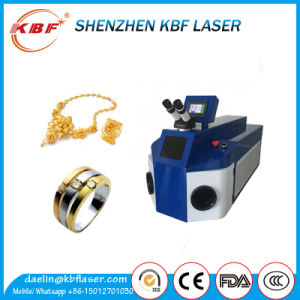 200W YAG Jewelry Laser Spot Welding Machine for Gold Silver pictures & photos