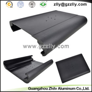 Black Color Car Casting Aluminum Profile Heatsinks pictures & photos
