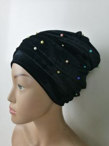 New Arrival Beaded Turban Head Wrap for Party pictures & photos