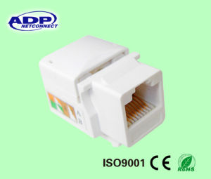 RJ45 Keystone Jack Module UTP 8p8c Cat5e/CAT6 Modules pictures & photos