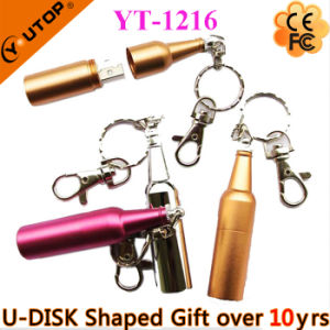 Outstanding Gifts Red Wine Bottle USB Flash Drive (YT-1216-02) pictures & photos