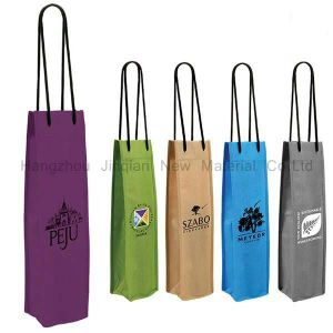 Customized Colorful SMS Nonwoven Fabric Wine Bag pictures & photos