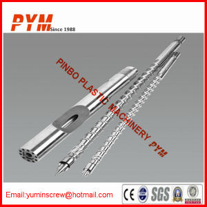 Bimetal Barrel and Screw for Blow Molding Machine pictures & photos
