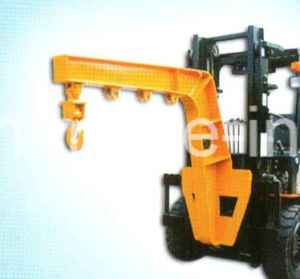 Double Arm and Double Hook Crane Jib Forklift Attachment pictures & photos