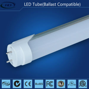 10W T8 Electronic & Magnetic Ballast Compatible LED Tubes-High Lumen pictures & photos