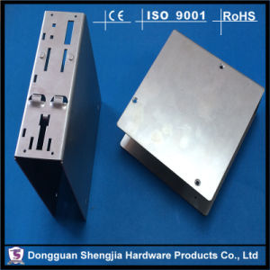 China Custom Fabrication Electronic Box Case Stamping Metal Enclosure