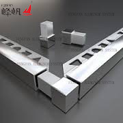 Aluminum Square Box Section Trim for Walls and Floors pictures & photos