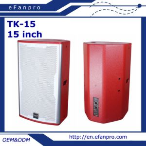 Hot Sale Single 15 Inch Karaoke Speaker Professional Loudspeaker (TK-15) pictures & photos