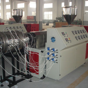 110mm PE PP Pipe Single Screw Extruder Machine Customized Low Noise pictures & photos