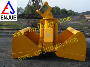 Electric Hydraulic Clamshell Grab Bucket for Excavator pictures & photos