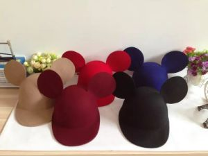Hat for Child, Wool Kids Cap, Peak Hat pictures & photos