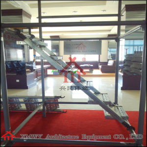 Q235 Stairs with Hooks / Skid Resistance Steel Construction Ladders