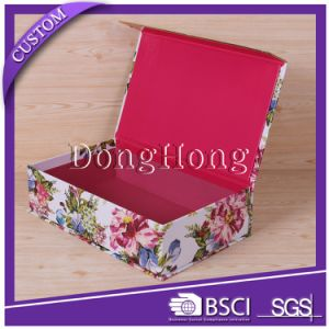 New Arrival Personalized Logo Cardboard Magnetic Closure Gift Box pictures & photos
