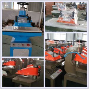 Digital Swing Arm Clicker Presses Hydraulic Cutting Machine pictures & photos