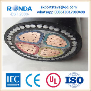 XLPE medium voltage power armoured cable pictures & photos