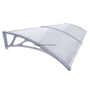 Hotsale Economic Outdoor DIY Polycarbonate Plastic Door Canopy (YY800-C) pictures & photos