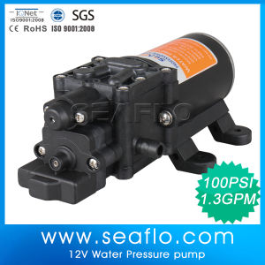 China Manufacturer 12V DC 60psi Low Volume High Pressure Water Pump pictures & photos