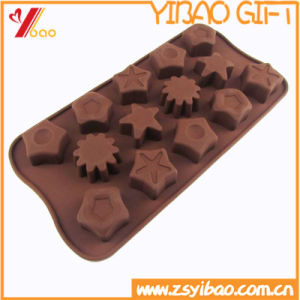 Custom High Quality FDA/ Certification Ketchenware Silicone Chocolate Mould /Cake Mold (YB-HR-123) pictures & photos
