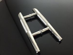 Stainless Steel Hinge Glass Fitting H Style Handle pictures & photos
